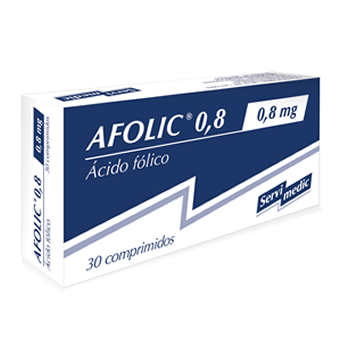 AFOLIC 0,8mg x 30 comp. ranurado