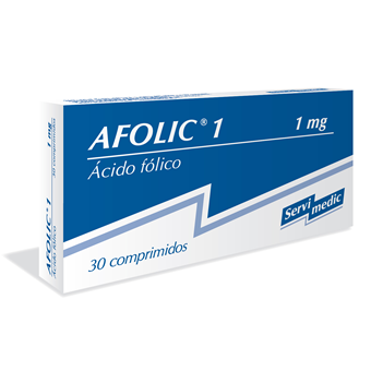AFOLIC 1mg x 30 comp. ranurado