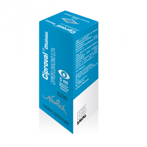 CIPROVAL Colirio x 5ml