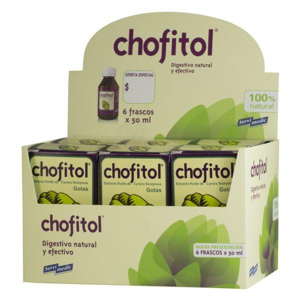 Display Chofitol 6 x 50 ml