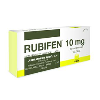 RUBIFEN 10 mg x 30 comp.