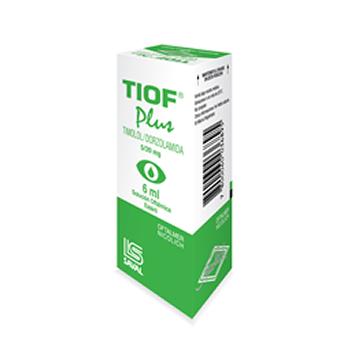 TIOF PLUS COLIRIO x 6 ml
